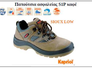 Botakia asfaleias Kapriol S1P sioux low kafe