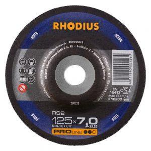 Rhodius RS2 125x7x22.23 τροχός λείανσης