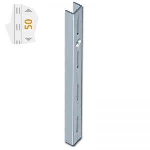 Element System Ορθοστάτης τοίχου ES μονής διάτρησης