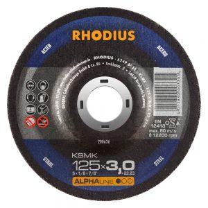 Δίσκος κοπής μετάλλου rhodius ksmk 125x3x22.23