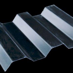 Φωτιστικά φύλλα πολυκαρβονικά τραπεζοειδή