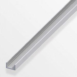 Προφίλ U από ανοδιωμένο αλουμίνιο